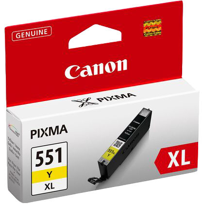 Canon Blekk CLI-551 XL Y Yellow 11ml