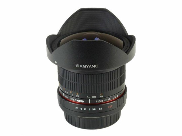Samyang 8mm f/3.5 Asph IF MC Fisheye CSII DH til Nikon