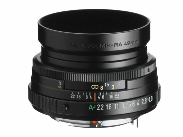 Pentax SMC FA 43mm f/1.9 Limited sort