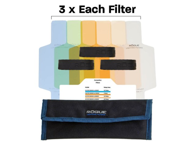 Rogue Rogue Flash Color Correction Filter Kit