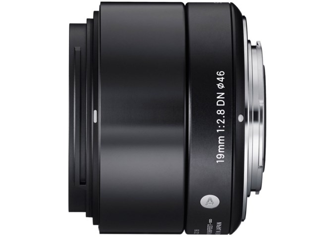 Sigma 19mm f/2,8 DN Art sort til Micro 4/3