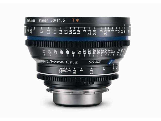 Zeiss Compact Prime CP.2 50mm T1.5 Super Speed PL-Mount
