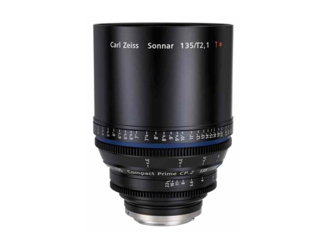 Zeiss Compact Prime CP.2 135mm T2.1 PL-mount