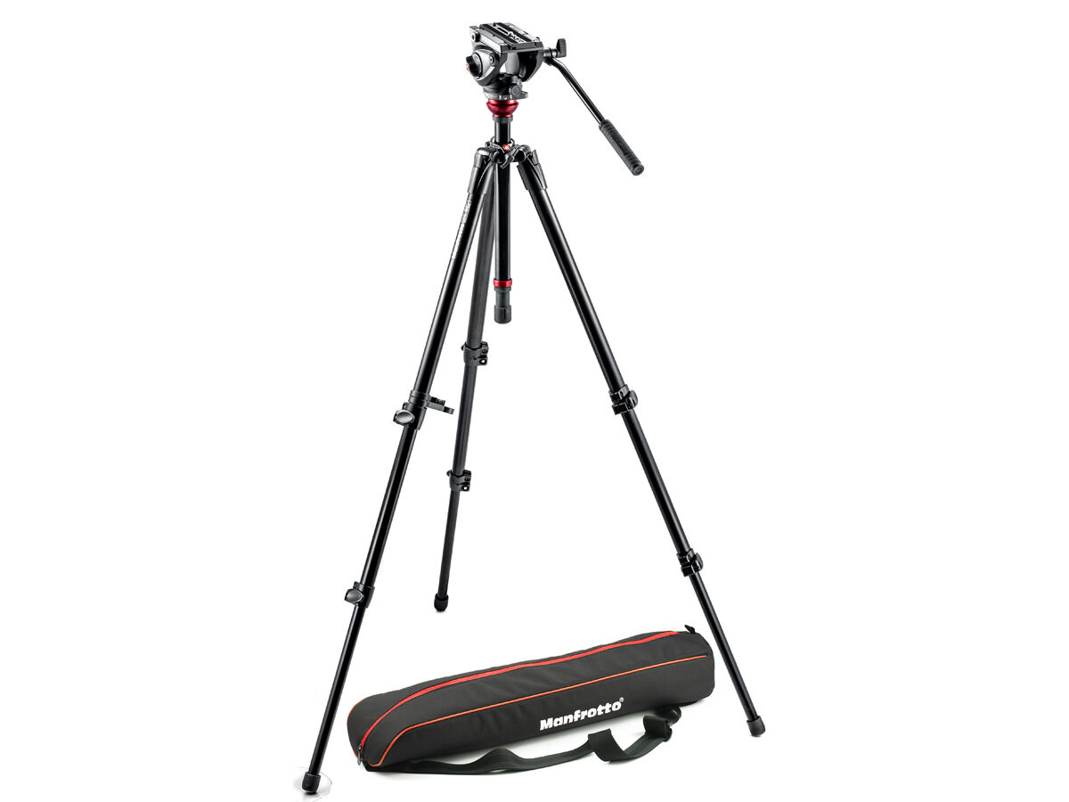 Manfrotto Videostativ Kit MVH500AH,755XB
