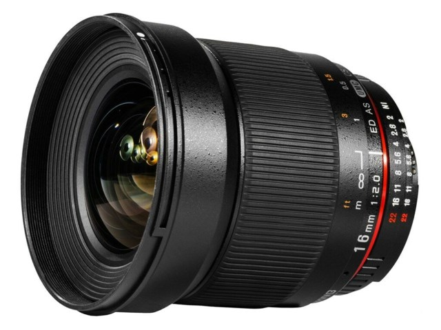 Samyang 16mm f/2.0 ED AS UMC CS til Sony E
