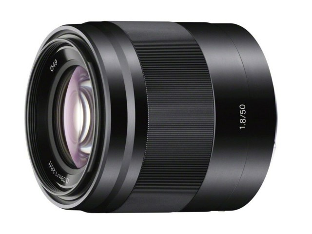 Sony E 50mm f/1.8 OSS Sort
