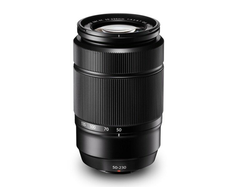 Fujifilm Fujinon XC 50-230mm f/4.5-6.7 OIS sort