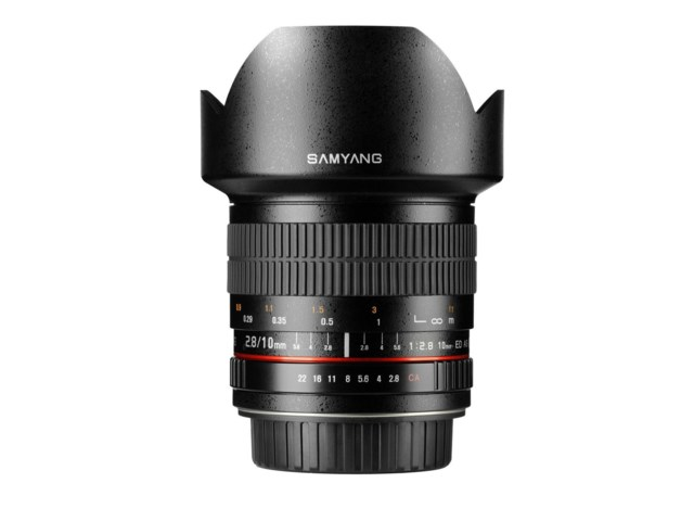 Samyang 10mm f/2.8 ED AS NCS CS til Canon EOS
