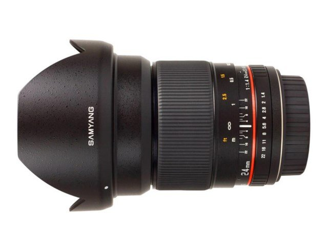Samyang 24mm f/1.4 ED AS UMC til Sony E