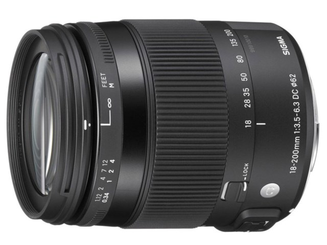 Sigma 18-200mm f/3.5-6.3 DC Macro OS HSM Contemporary til Canon