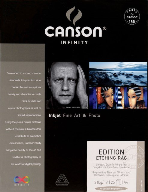 Canson Edition Etching Rag 310gsm A4