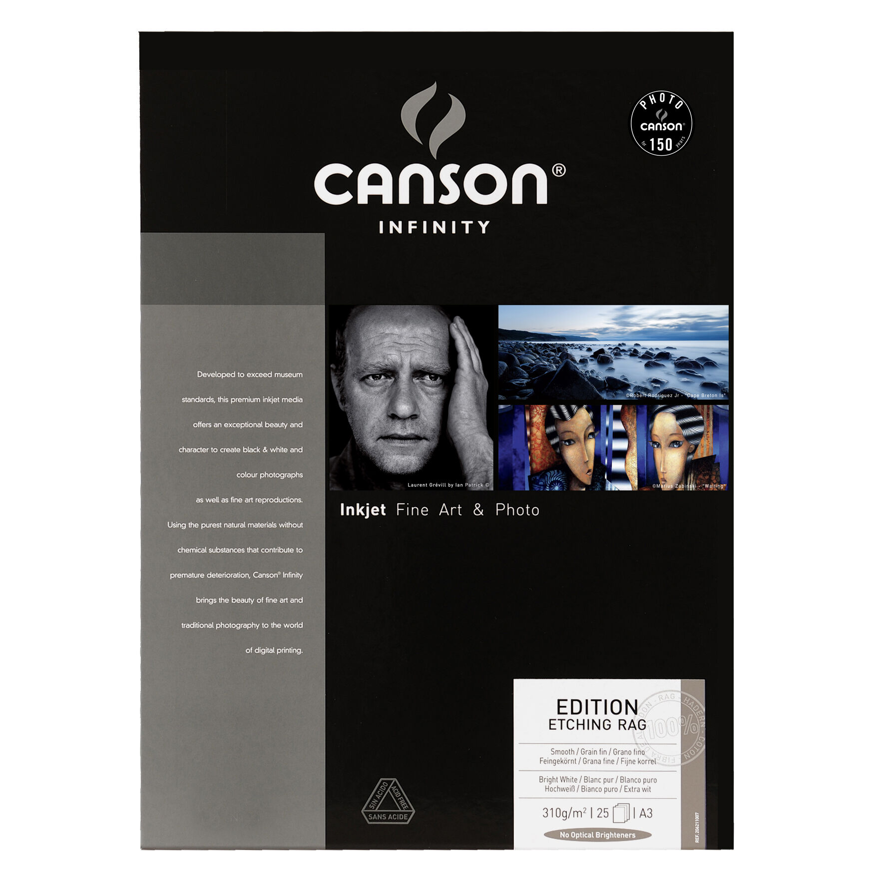 Canson Edition Etching Rag 310gsm A3