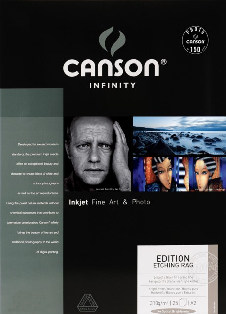Canson Edition Etching Rag 310gsm A2