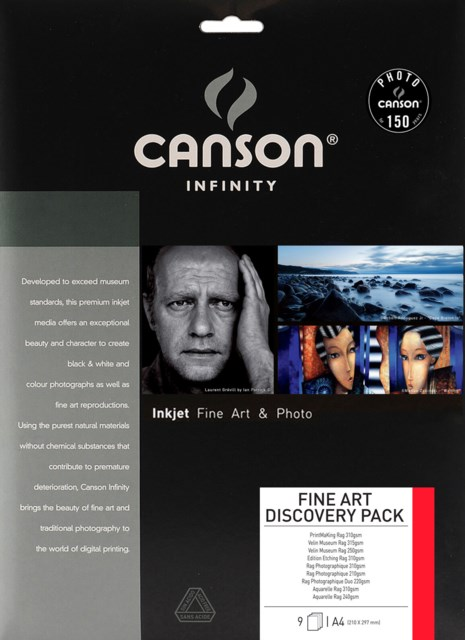 Canson Infinity Photo Discovery Pack