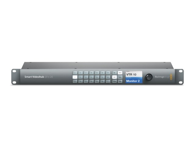 Blackmagic Design Smart videohub 20x20