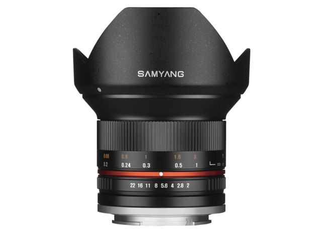 Samyang 12mm f/2.0 NCS CS Sony E (NEX) sort