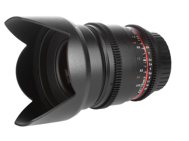 Samyang 16mm T2.2 ED AS UMC CS VDSLR II til Canon