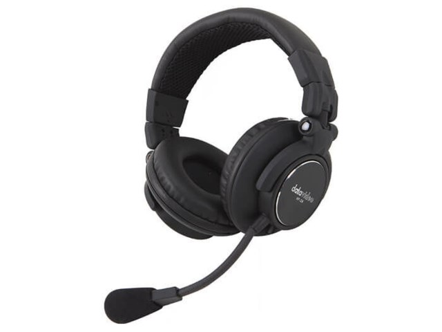 DataVideo HP-2 Pro Heavy Duty headset for intercom