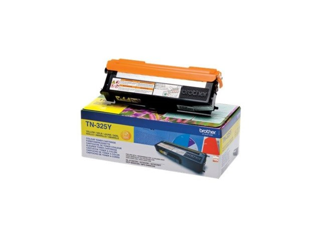 Brother Toner TN325Y gul til 4150/4570