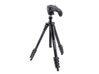 Manfrotto Stativkit Compact Action MKCOMPACTACN-BK svart