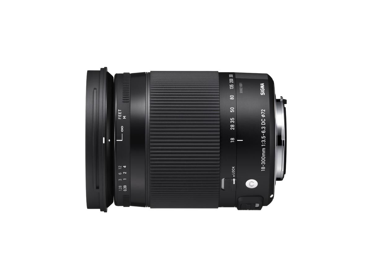 Sigma 18-300mm f/3.5-6.3 DC Macro OS HSM Contemporary til Canon