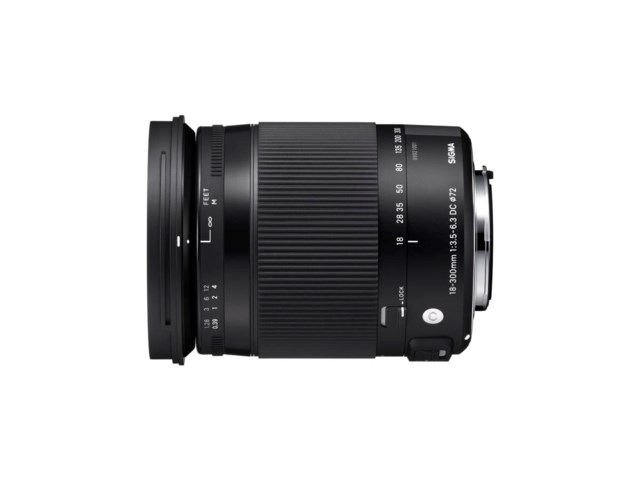 Sigma 18-300mm f/3.5-6.3 DC Macro OS HSM C til Canon