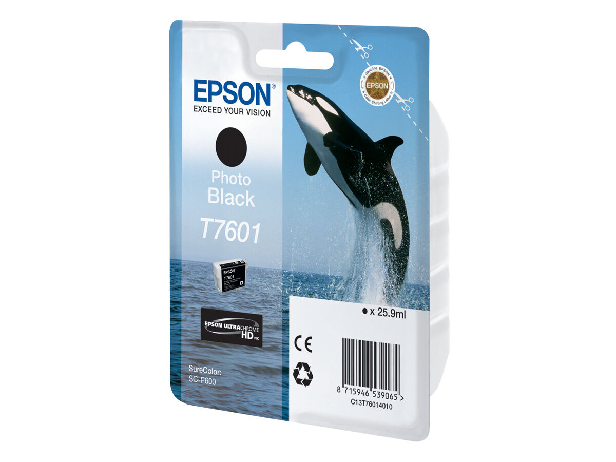 Epson Blekk T7601 Photo black