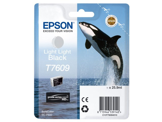 Epson Blekk T7609 Light Light Black