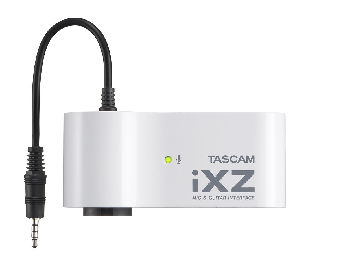 Tascam iXZ till iPhone/iPad/iPod Touch