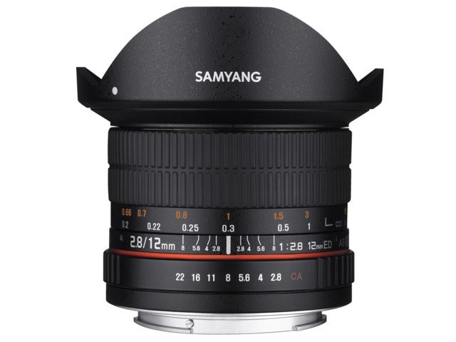 Samyang 12mm f/2.8 ED AS NCS Fisheye til Fuji X