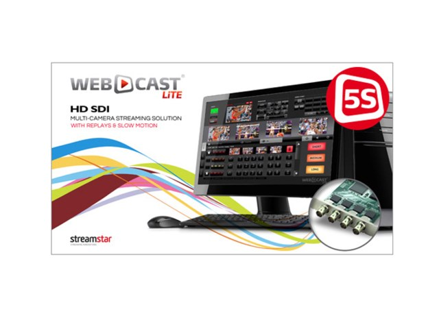 Streamstar Webcast Lite 5S SDI