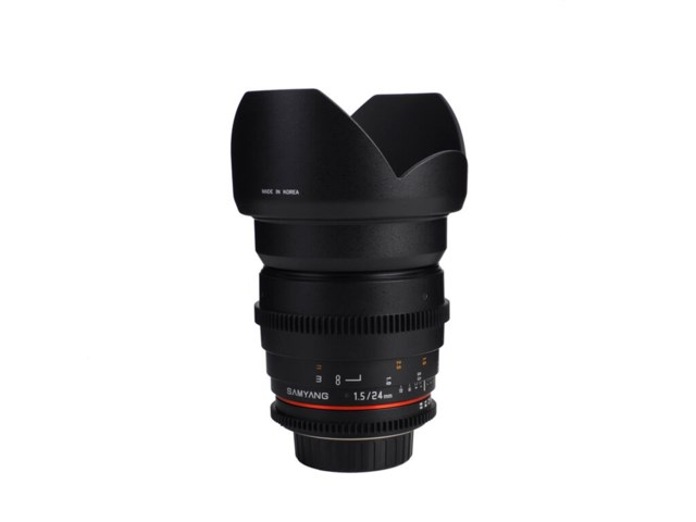Samyang 24mm T1.5 VDSLR ED AS IF UMC II till Sony E