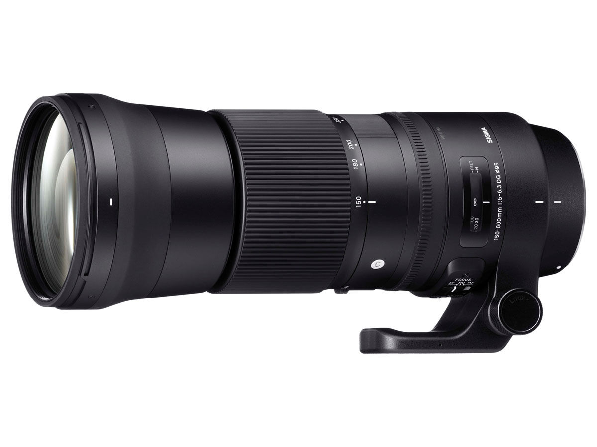 Sigma 150-600mm f/5-6.3 DG OS HSM Contemporary til Canon
