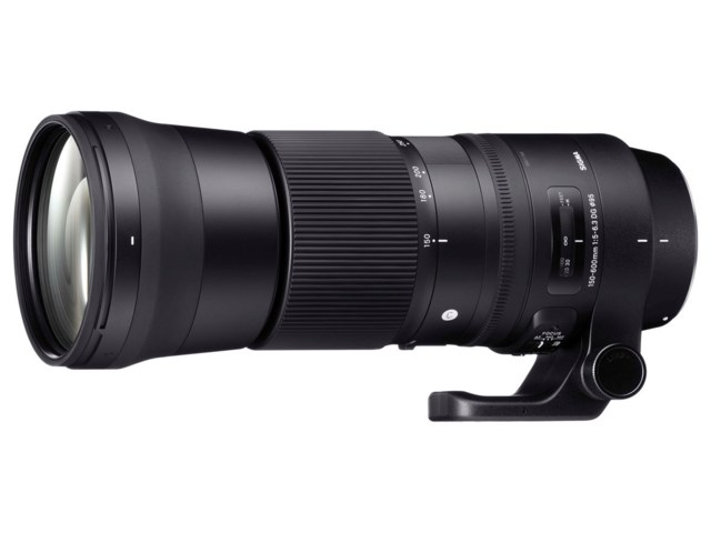 Sigma 150-600mm f/5-6,3 DG OS HSM Contemporary til Nikon
