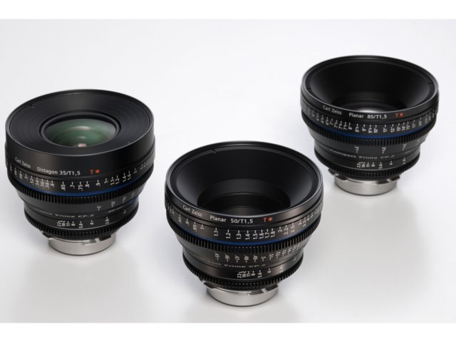 Zeiss CP.2 Superspeed kit PL-mount med koffert