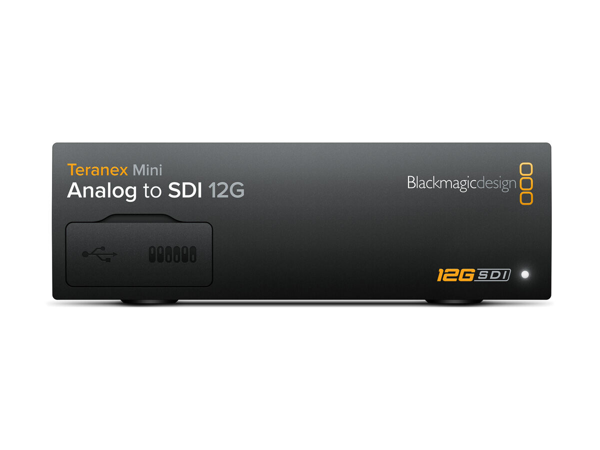 Blackmagic Design Teranex mini - Analog til SDI 12G