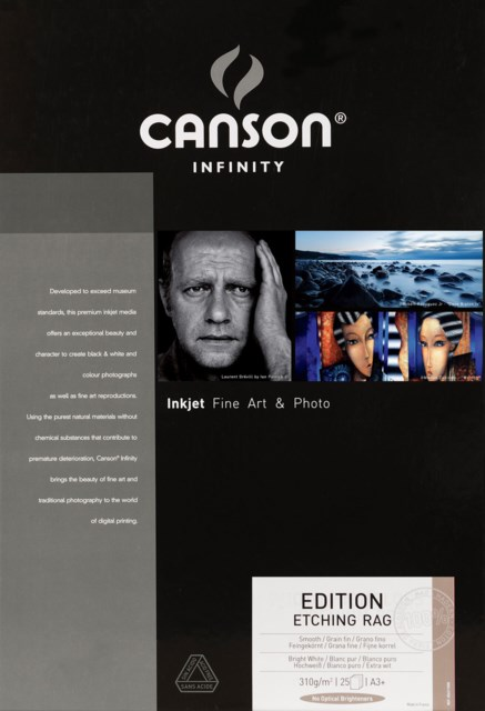 Canson Edition Etching Rag 310gsm A3+