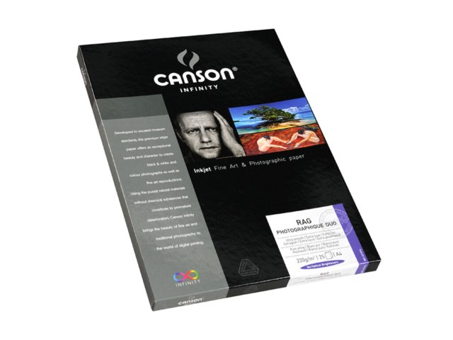 Canson Rag Photographique DUO 220gsm A4