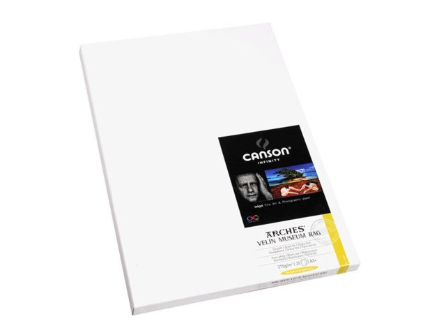 Canson Arches Velin Museum Rag315gsm A3+ A3+ - 25 ark