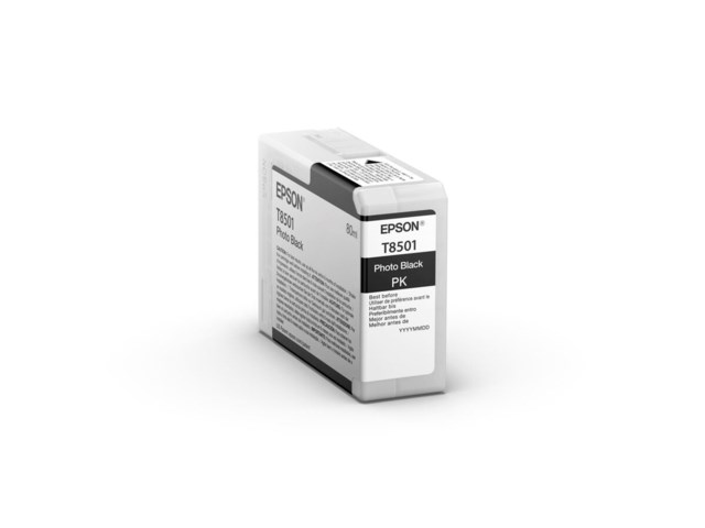 Epson Blekkpatron Ultrachrome HD foto svart 80 ml