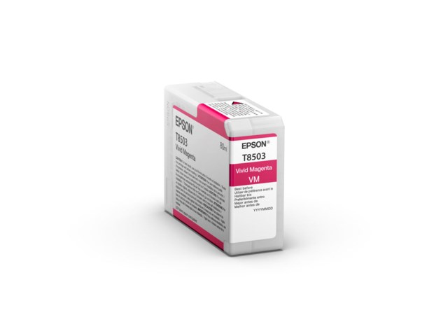Epson Blekkpatron Ultrachrome HD vidid magenta 80 ml