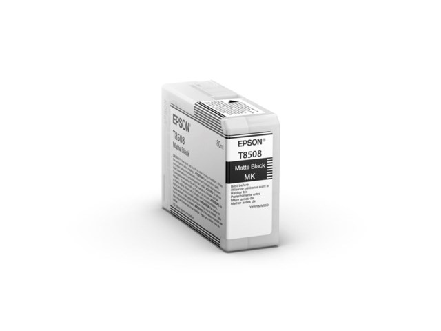 Epson Blekkpatron Ultrachrome HD matt sort 80 ml
