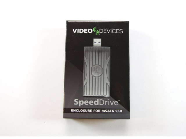 Sound Devices Video Devices SpeedDrive Empty - Media Enclosure