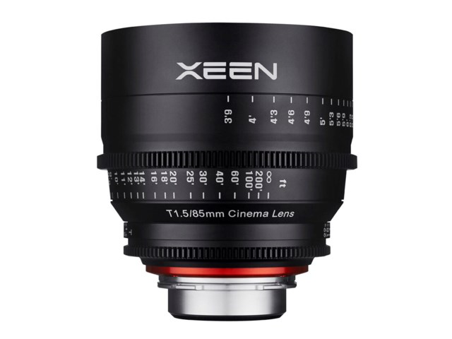 Samyang Xeen 85mm T1.5 Cinema til Nikon