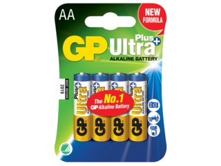 GP Batteri AA / LR6 Ultra Plus 4-pack