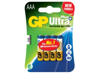 GP Batteri AAA / LR03 Ultra Plus 4-pack