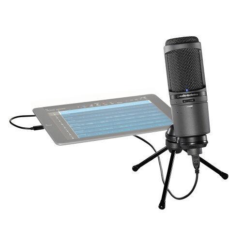 Audio Technica Mikrofon AT2020 USB+   Scandinavianphoto.no