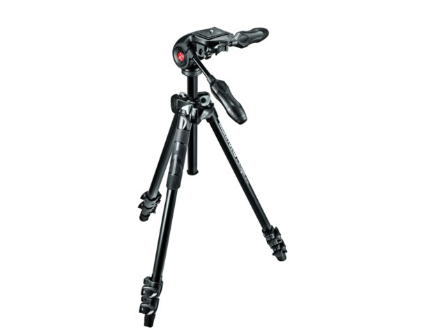 Manfrotto Stativkit MK290LTA3-3W Light alu +MH293D3