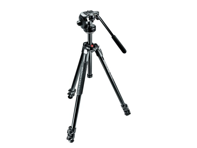 Manfrotto Videostativkit 290 Xtra +128RC2 videohode