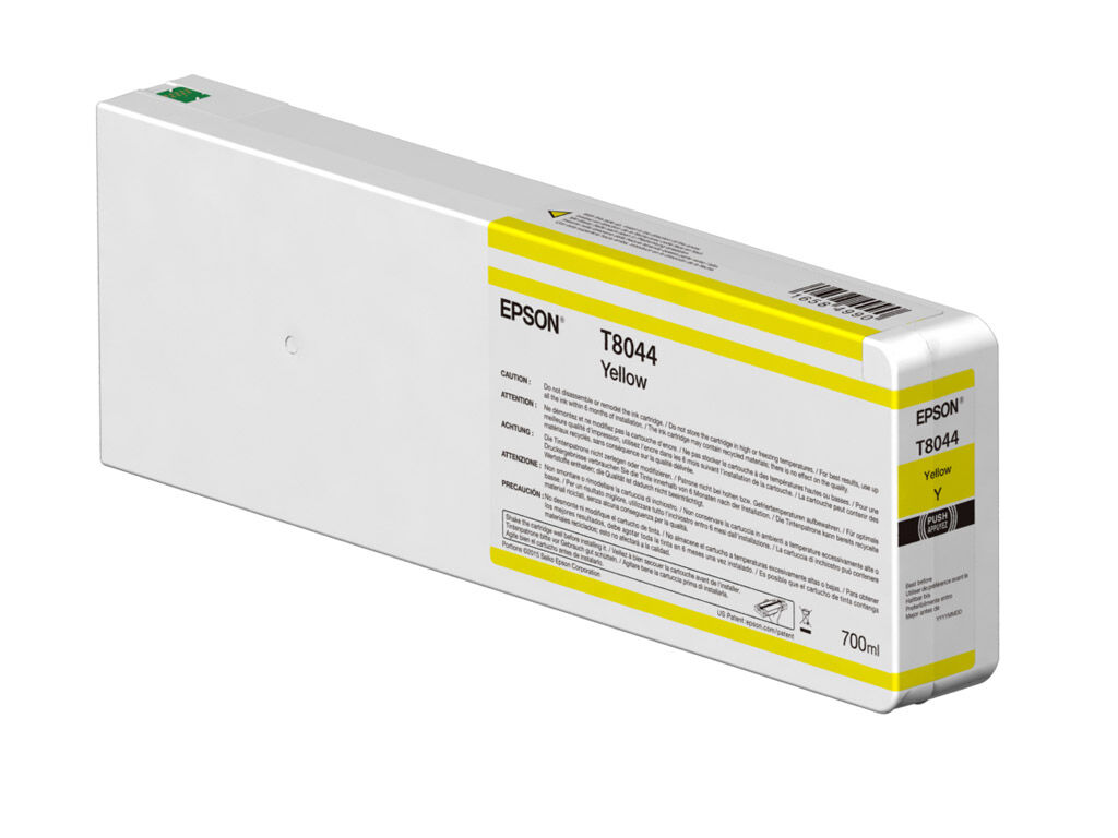 Epson Blekkpatron Ultrachrome HDX/HD gul 700 ml T804400